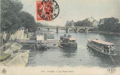 """/ CPA FRANCE 75001 """"Paris, le pont neuf"""""""