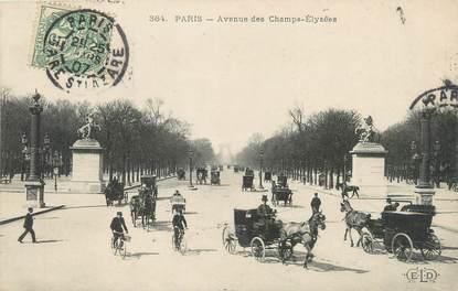 """/ CPA FRANCE 75008 """"Paris avenue des Champs Elysées"""""""