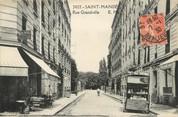 """94 Val De Marne / CPA FRANCE 94 """"Saint Mandé, rue Grandville"""""""