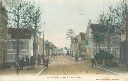 """/ CPA FRANCE 94 """"Bonneuil, rue de la Croix"""""""