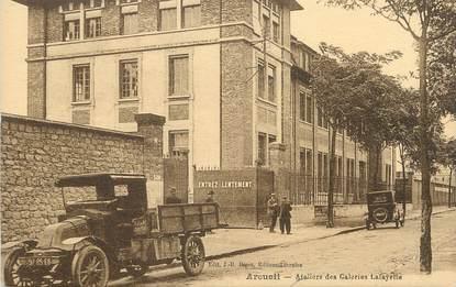 """/ CPA FRANCE 94 """"Arcueil, ateliers des galeries Lafayettes"""""""
