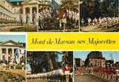 """40 Lande / CPSM FRANCE 40 """"Mont de Marsan"""" / MAJORETTE"""