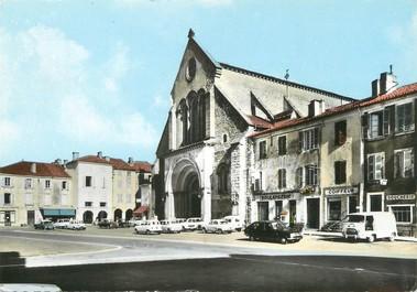 """/ CPSM FRANCE 40 """"Saint Sever, l'église"""""""