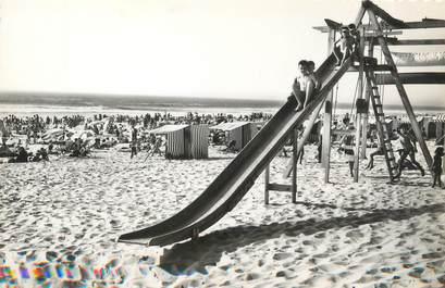 """/ CPSM FRANCE 40 """"Mimizan plage, jeux sur la plage"""""""