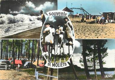 """/ CPSM FRANCE 40 """"Moliets plage """""""