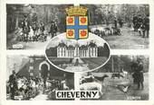 """41 Loir Et Cher / CPSM FRANCE 41 """"Château de Cheverny"""" / CHASSE A COURRE"""