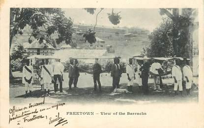 "CPA SIERRA LEONE ""Freetown"" / OBLITERATION VERSO"