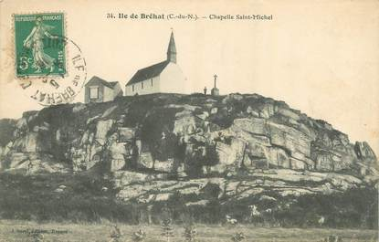 "/ CPA FRANCE 19 ""Ile de Bréhat, chapelle Saint Michel"""