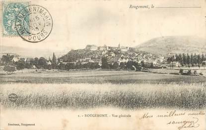 """/ CPA FRANCE 25 """"Rougemont, vue générale"""""""