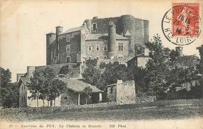"""/ CPA FRANCE 43 """"Le Chateau de Bouzols"""""""