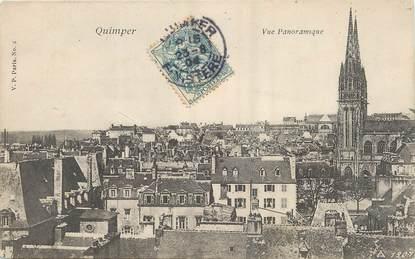 "/ CPA FRANCE 29 ""Quimper, vue panoramique"""