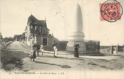 """/ CPA FRANCE 76 """"Sainte Adresse, le pain de sucre"""""""