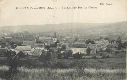 """/ CPA FRANCE 71 """"Saint Martin sous Montaigut, vue générale"""""""