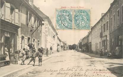 """/ CPA FRANCE 71 """"Joucy, route de Buxy"""""""