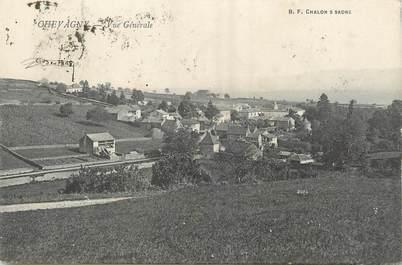 "/ CPA FRANCE 71 ""Chevagny, vue générale"""
