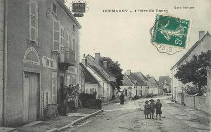 "/ CPA FRANCE 71 ""Germagny, centre du bourg"""