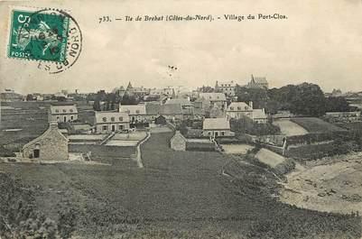 """CPA FRANCE 22 """"Ile de Bréhat, Village du Port Clos"""""""