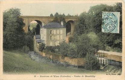 "CPA FRANCE 14 ""Env. de Vire, Viaduc de Martilly"""