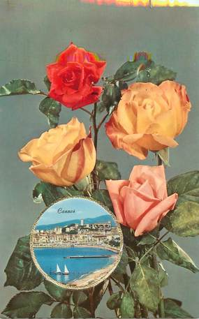 """/ CPSM FRANCE 06 """"Cannes"""" /  CARTE PARFUMEE"""