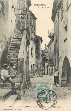 """/ CPA FRANCE 06 """"La Turbie,  vieille rue"""""""