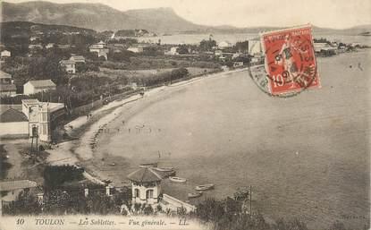 """/ CPA FRANCE 83 """"Toulon, les Sablettes, vue générale"""""""