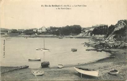 """CPA FRANCE 22 """"Ile de Bréhat, Le Port Clos"""""""