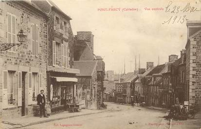 "CPA FRANCE 14 ""Pont Farcy, vue centrale"""