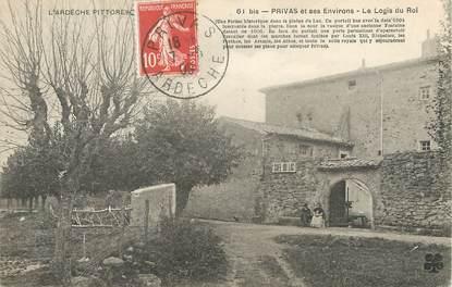 Cpa france 07 privas et ses environs le logis du roi for Logis de france annecy et environs