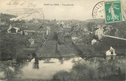 """CPA FRANCE 14 """"Pont des Vers, vue générale"""""""