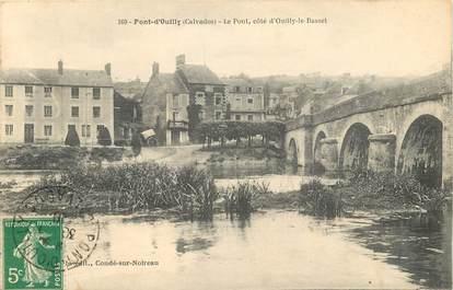 """CPA FRANCE 14 """"Pont d'Ouilly, le pont côté d'Ouilly le Basset"""""""