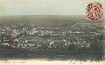 """CPA FRANCE 88 """"Charmes sur Moselle"""" / CACHET AMBULANT Vesoul à Nancy"""