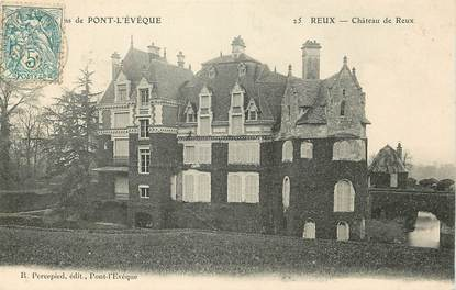 "CPA FRANCE 14 ""Reux, Chateau"""