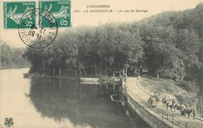 """/ CPA FRANCE 63 """"La Bourboule, la lac du barrage"""""""