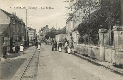 """CPA FRANCE 14 """"Sallenelles, rue de Dives"""""""