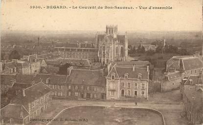 """CPA FRANCE 22 """"Bégard, le couvent du Bon Sauveur"""""""