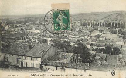 "/ CPA FRANCE 55 ""Bar Le Duc, panorama pris rue des Grangettes"""