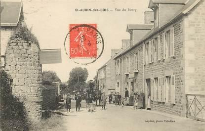 """CPA FRANCE 14 """"Saint Aubin des Bois, vue du bourg"""""""