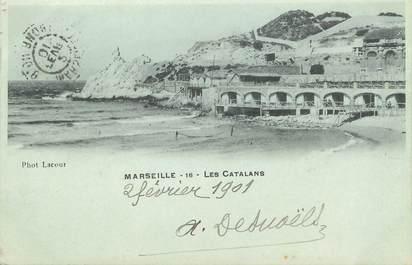 "/ CPA FRANCE 13 ""Marseille, les Catalans"""