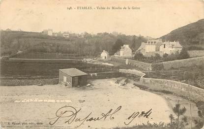 """CPA FRANCE 22 """"Etables, Vallée du Moulin de la Grève"""""""