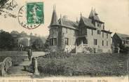 """14 Calvado CPA FRANCE 14 """"Env. de Lisieux, Mesnil Simon, Manoir de la Varende"""""""