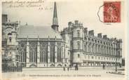 """78 Yveline CPA FRANCE 78 """"Saint Germain en laye, le chateau"""" / CACHET AMBULANT Saint Germain à Paris"""