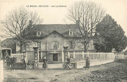 """CPA FRANCE 14 """"Le Mesnil Mauger, Les Lys Blancs"""""""