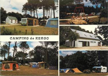 "/ CPSM FRANCE 56 ""Auray, camping de Kergo"""