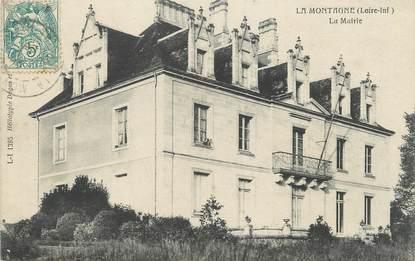 """/ CPA FRANCE 44 """"La Montagne, la mairie"""""""