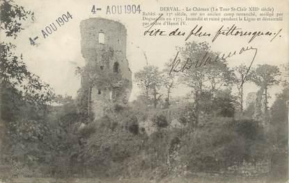 """/ CPA FRANCE 44 """"Derval, la château"""""""