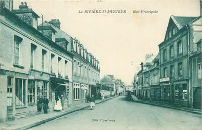 """CPA FRANCE 14 """"La Rivière Saint Sauveur"""""""