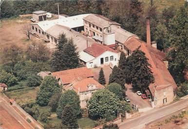 """/ CPSM FRANCE 42 """"Bellegarde en Forez, vue aérienne de l'usine Laurency Seon"""""""