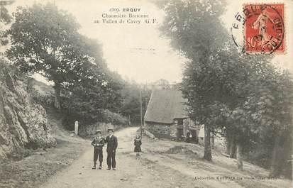 """CPA FRANCE 22 """"Erquy, Chaumière bretonne au Vallon de Cavez"""""""