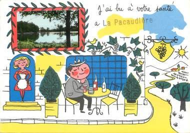 """/ CPSM FRANCE 42 """"La Pacaudière"""""""