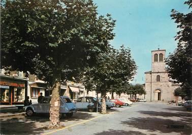 """/ CPSM FRANCE 42 """"Pelussin, place des Croix"""""""